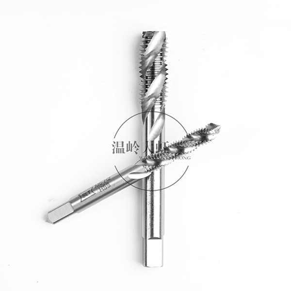 上工高速钢HSS-EM不锈钢专用螺旋丝锥 机用丝锥 机用丝攻 M18-M24*1.5