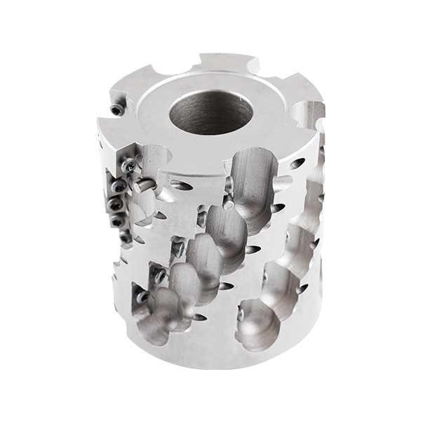 天弘玉米铣刀 套式高效可转位螺旋立铣刀 玉米粗铣刀 套式高效立铣刀 加工中心 APMT TH1011