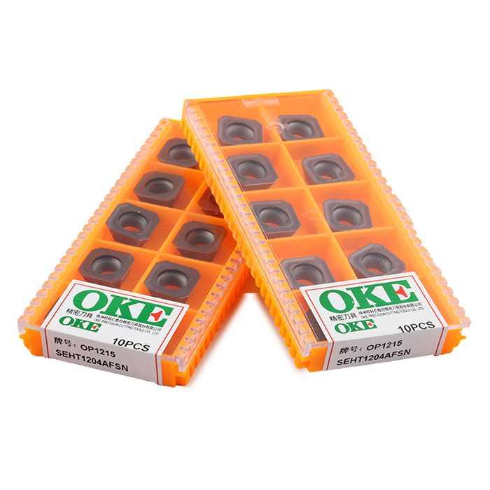 OKE/欧科亿 数控铣刀片 数控刀片 SEHT 通槽