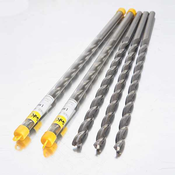 赛诺克 HSS高速钢 含钴抛物线强力钻 大螺旋角直柄钻头 加长钻头D6-D14.0*500L