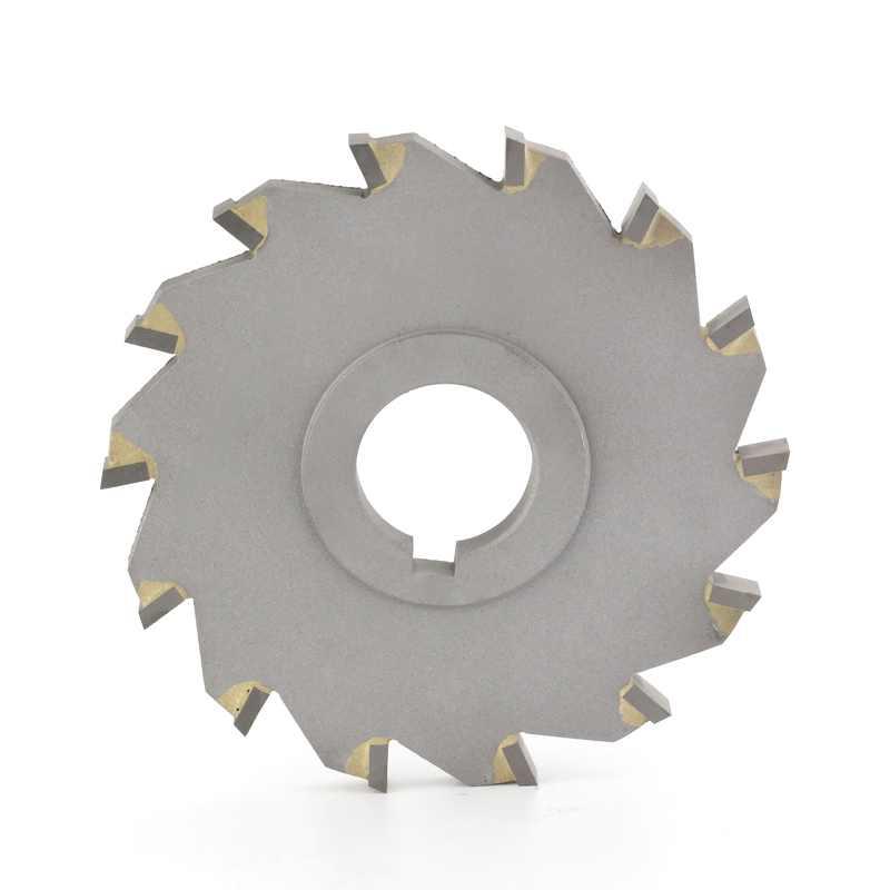 展航  镶合金铣刀 镶合金三面刃铣刀 D63-D200
