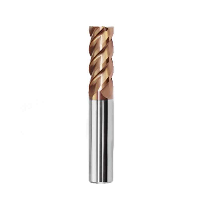 ZCC CT/株洲 整体硬质合金铣刀 钨钢铣刀 高硬度钢加工 HMX-4E